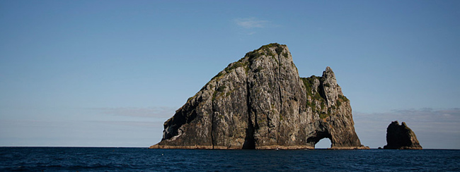 hole in the rock bay of islands