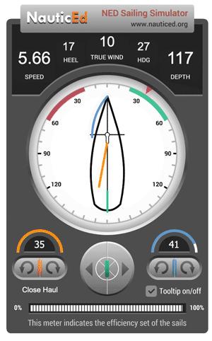 NauticEd sailing simulator image