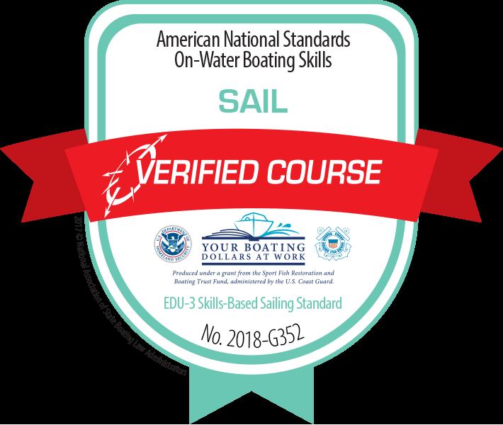 NauticEd USCG NASBLA approval badge